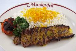 kebab barg, maykade